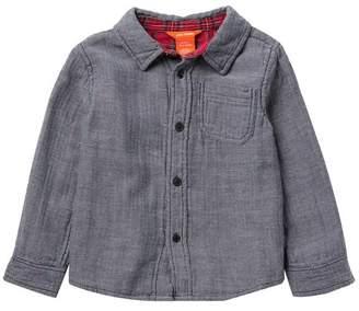 Joe Fresh Knit Long Sleeve Shirt (Toddler & Little Boys)