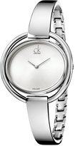Calvin Klein Women's Swiss Impetuous Stainless Steel Bracelet Watch 40mm K4F2N116