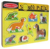 MELISSA & DOUG Pets Wooden Sound Puzzle