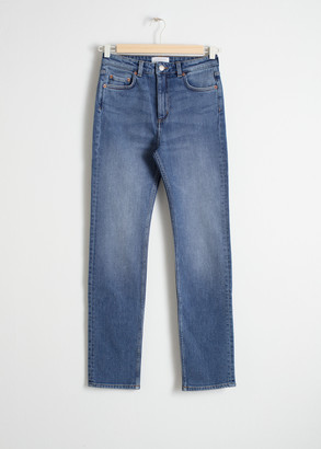 And other stories Straight Slim Jeans
