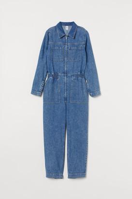 H&M Denim Jumpsuit - Blue