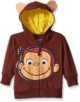 Curious George Little Boys' Toddler Character Hoodie