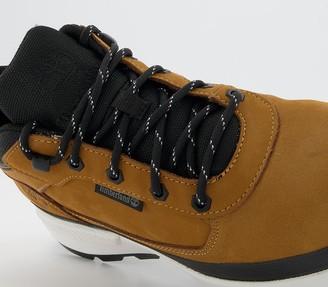 Timberland Field Trekker Low Hiker Boots Wheat Nubuck