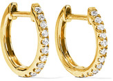 Anita Ko Huggy 18-karat Gold Diamond Earrings - one size