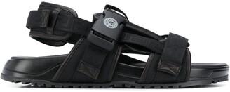 Versace Logo-Strap Sandals