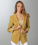Willow & Clay Open-Front Blazer
