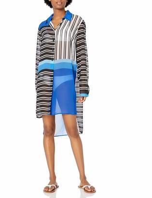 Gottex Women's Midi Shirtdress Swimsuit Cover Up