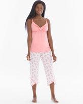 Soma Intimates Paisley Dream Pima Cotton Nursing Pajama Set