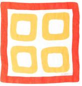 Givenchy Logo Square Scarf