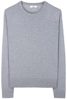 Ami Horizontal Rib Wool Sweater
