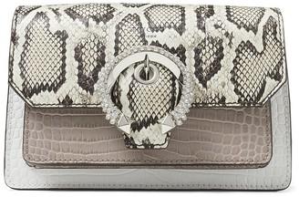 Jimmy Choo Madeline XB crystal-embellished satchel