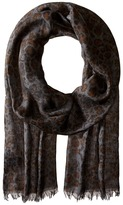John Varvatos Skull Leopard Print