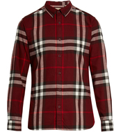 Burberry House check cotton-flannel shirt
