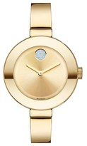 Movado Women's 'Bold' Crystal Accent Bangle Watch, 34Mm