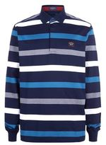 Paul & Shark Stripe Rugby Shirt