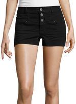 Blue Spice Denim Shorts-Juniors
