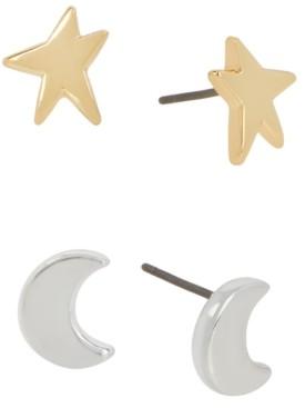 Robert Lee Morris Soho Two-Tone 2-Pc. Set Celestial Stud Earrings