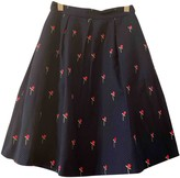 agnès b. Blue Cotton Skirt for Women