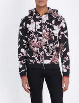 McQ by Alexander McQueen Floral-print cotton-jersey hoody