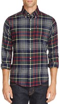 Barbour Alvin Tailored Flannel Regular Fit Button Down Shirt