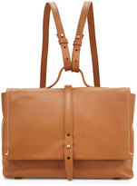 Kelsi Dagger Ainslie Mini Leather Backpack, Cognac