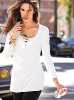 Victoria's Secret Lace-up Tunic