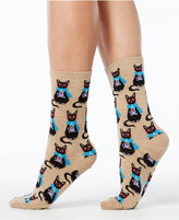 Hot Sox Women's Coffee Cat Socks
