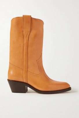 Isabel Marant Danta Leather Boots - Camel
