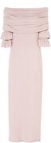 Maria Lucia Hohan Raeni Off-The-Shoulder Ruffle Sleeve Dress