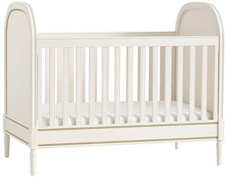 Pottery Barn Kids Zoey Toddler Bed Conversion Kit, Vintage Simply White