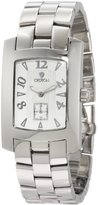 Croton Men's Textured Dial Stainless Steel Watch CN307186SSSL