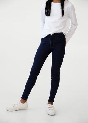 MANGO Super skinny jeans dark blue - 5 - Kids
