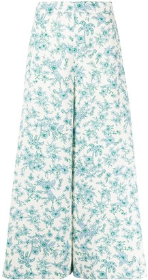 VIVETTA Floral Print Trousers