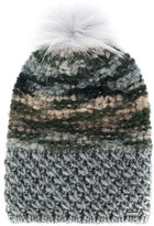 Woolrich pom-pom knitted hat