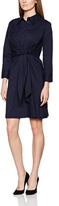 APART Fashion Women's 37344 NA 3/4 Sleeve Dress - Blue