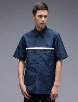 Marni S/S Shirt With Chest Stripe