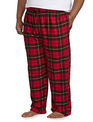 Amazon Essentials Men's Big & Tall Flannel Pajama Pant fit by DXL