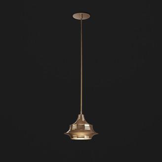 Bover Tibeta 02 Ceiling Pendant - Antique Brass