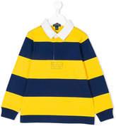 Ralph Lauren striped longsleeved polo shirt