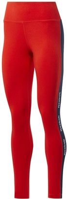 Reebok Plus Size Training Essentials Linear Logo Leggings