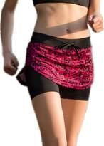 Crazycatz@Women Tennis Running Swim Sports Ladies Skort shorts skirt