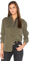 Free People Off Campus Button Down Top