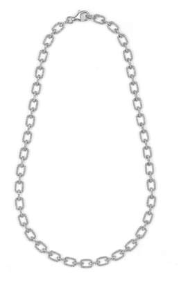 18ct White Gold 3.72ct Diamond Necklace