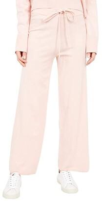 Sanctuary Essential Knitwear Lounge Pants (Latte Heather) Women's Casual Pants