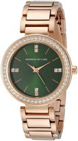 Kenneth Jay Lane Women's KJLANE-2612 Glitz Analog Display Japanese Quartz Rose Gold Watch