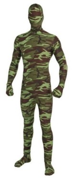BuySeasons Big Boys and Girls I'm Invisible Camo Costume