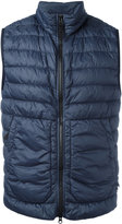 Stone Island Dyed Micro Yarn gilet - men - Feather Down/Polyamide - L