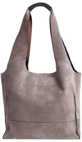 Rag & Bone Walker Suede Tote - Grey