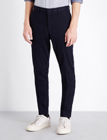 HUGO BOSS Slim-fit tapered stretch-cotton chinos