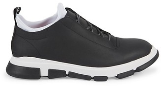Swims City Hiker Leather-Coated Pull-On Sneakers